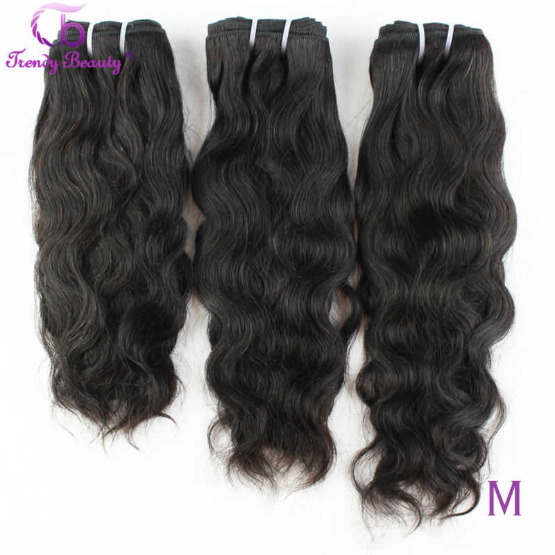 Braziliaanse Natuurlijke Golf Haar 100% Human Hair Extensions 3 Pcs Lot 8-30 Inch Brazilian Hair Weave Bundels Niet-Remy Trendy Beauty