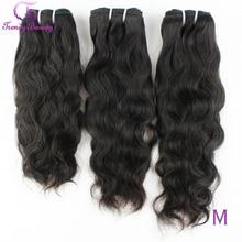 Brazilian Natural Wave Hair 100% Human Hair Extensions 3 pcs Lot 8 30 Inches Brazilian Hair Weave Bundles Non Remy Trendy Beauty