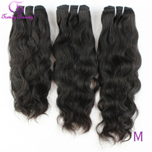 Cheveux brésiliens naturels 100% Extensions de cheveux humains 3 pièces Lot 8 30 pouces cheveux brésiliens armure faisceaux Non Remy beauté à la mode