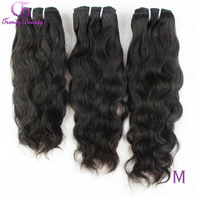 Naturalne brazylijskie włosy falowane 100% doczepy z ludzkich włosów 3 sztuk Lot 8 30 cali brazylijski włosy wyplata zestawy nie Remy modne piękne
