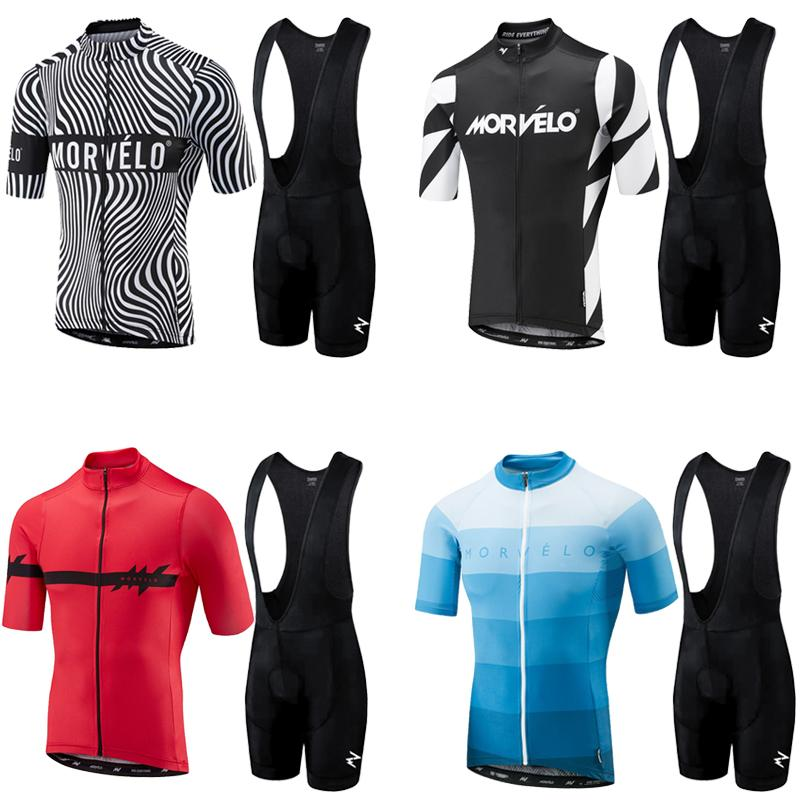 2019 Summer Cycling Jersey Bib Pants Team Pro Cycling Jersey Men Triathlon Bike Wielerkleding Heren Sets Zomer Bretelle Ciclismo