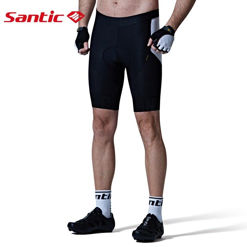 Santic мужские шорты с подкладкой для велоспорта, гоночная посадка, импортировано из Италии, DOLOMITI FM1507 коврик, итальянская одежда для езды на ве... - 2