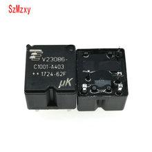 10 قطعة V23086 C1001 A403 V23086 C1001 A403 12V 350 السيارات التتابع DIP5 12VDC