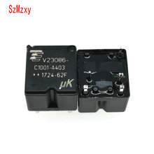 10PCS V23086 C1001 A403 V23086 C1001 A403 12V 350 Auto Relais DIP5 12VDC