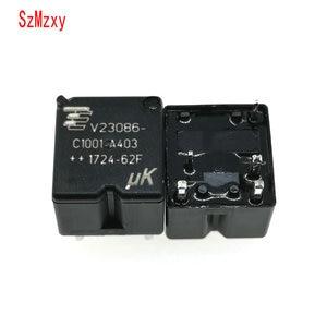 Image 1 - 10PCS  V23086 C1001 A403 V23086 C1001 A403 12V 350 Auto Relay DIP5 12VDC