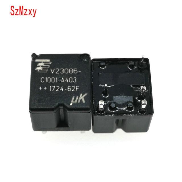 10PCS  V23086 C1001 A403 V23086 C1001 A403 12V 350 Auto Relay DIP5 12VDC