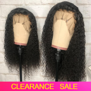 Curly Wig Human Hair Pre Plucked Deep Curly Lace Front Human Hair Wigs HD Lace Frontal Wig 150% Brazilian Remy Wigs For Women