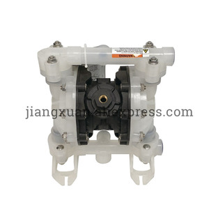 "Image 2 - BML 15P 57L/Min1/2"" PP Material PTFE Plastic Air operated Pneumatic diaphragm pump Double Way Liquid BML 15 Diaphragm Pump"