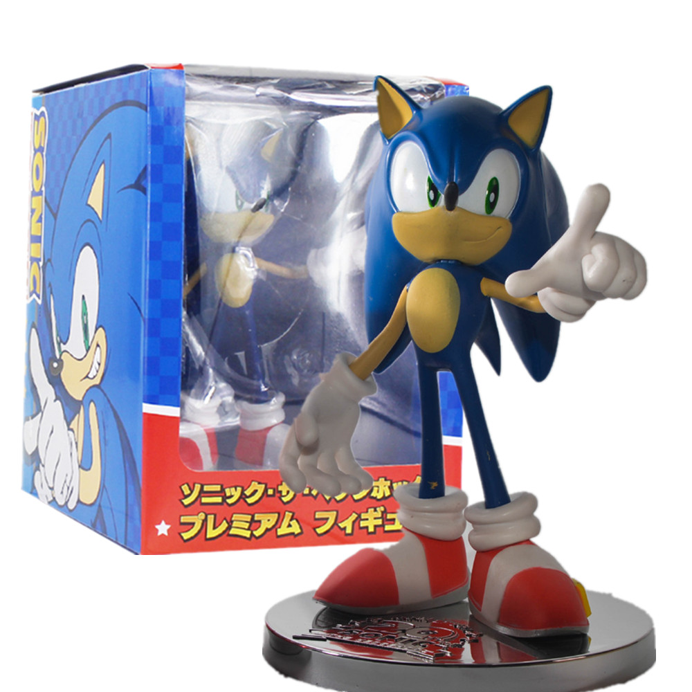 Sonic The Hedgehog 20th Anniversary Pvc Action Figure 170mm Model Toys Anime Sonic The Hedgehog Movie Figurine Game Figura Toy Action Toy Figures Aliexpress