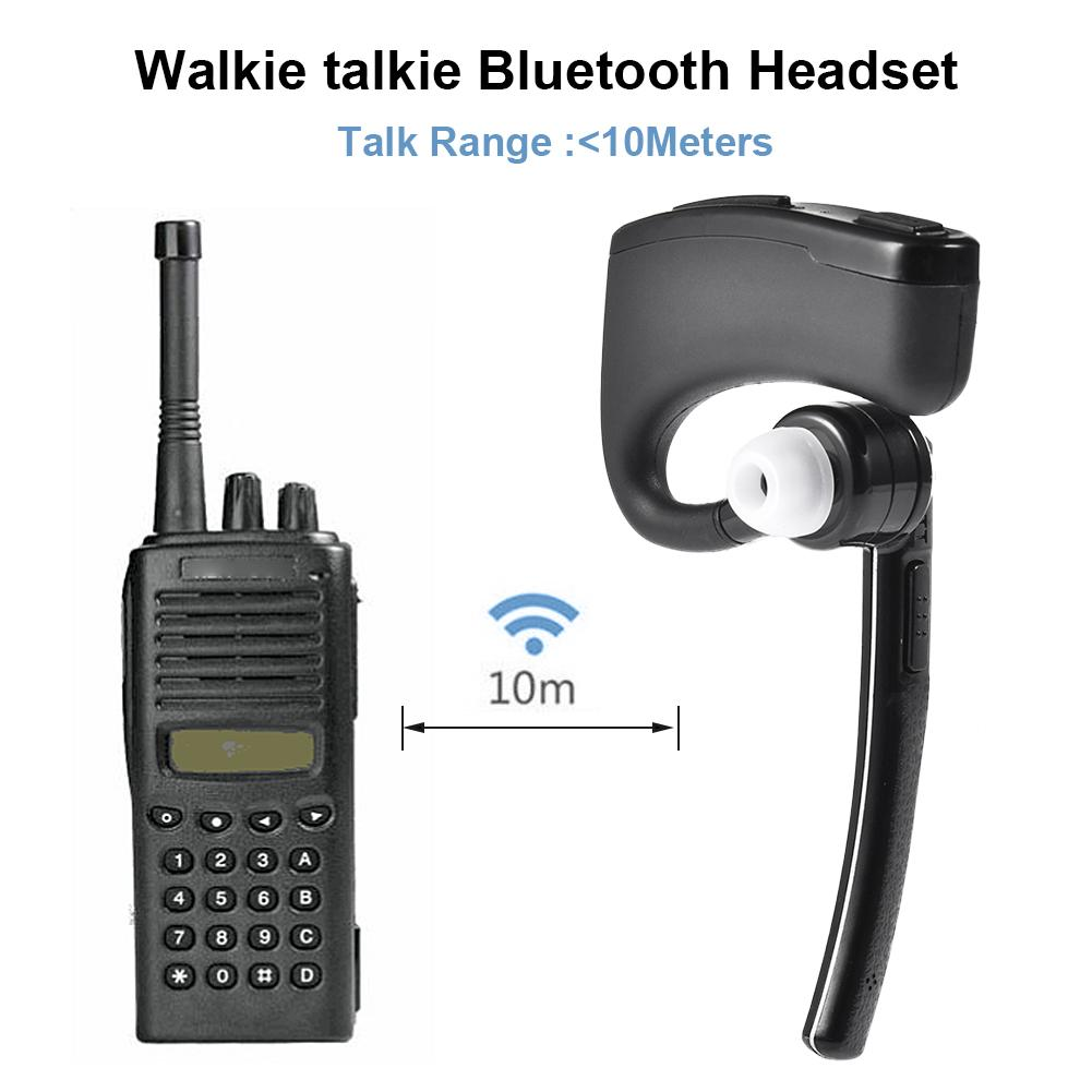 Wireless Bluetooth Headset K-connection Hand Headset Automatic Pairing In-ear Earbud Walkie Talkie Radio Bluetooth Headphone