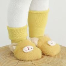 Girls Socks Animal Newborn-Baby Warm Infant Winter Cotton Cartoon Autumn Thick Soft