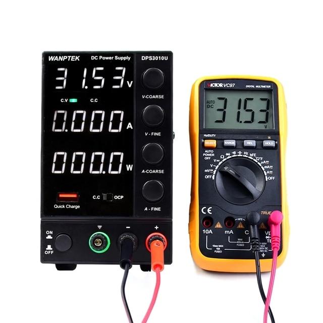 New USB Adjustable DC Laboratory 30V 10A Lab Power Supply Adjustable 60V 5A Voltage Regulator Stabilizer Switching Power Supply