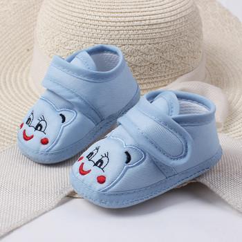 Niemowlę Baby Girl Boy Shoes Cartoon antypoślizgowa miękka podeszwa Hook buciki maluch niemowlę Baby Girl Kids Shoes 0-18M 3 kolor 1226 tanie i dobre opinie SAGACE CN (pochodzenie) Płótno Płytkie Wszystkie pory roku Hook loop Drukuj Unisex Pierwsze spacerowiczów RUBBER Pasuje prawda na wymiar weź swój normalny rozmiar