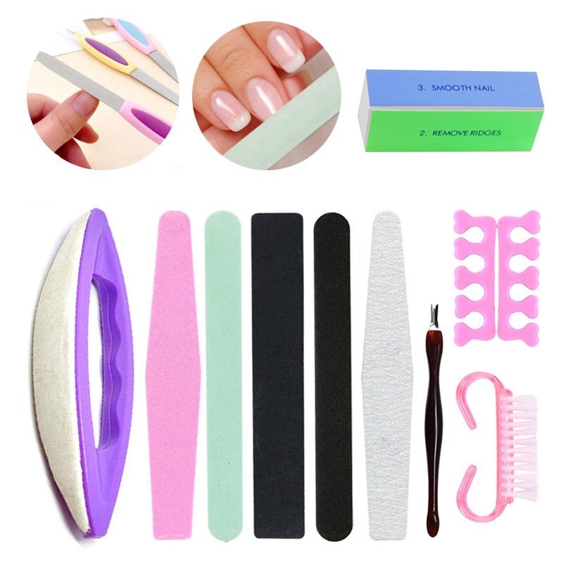 Pedicure Manicure Tools Nail File Sanding Buffer Block Acrylic Block Polish Polish Sanding Nail Brush Nail Buffer Nails Care