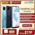 Смартфон realme C21 глобальная версия, Helio G35 восемь ядер, 4 Гб 64 ГБ, дисплей 6,5 дюйма, аккумулятор 5000 мАч, 47 дней в режиме ожидания, 3 слота для карт