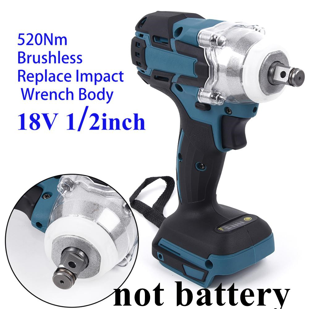 Cordless 1280W Brushless Adjustable 240-520NM Electric Hammer Drill 8