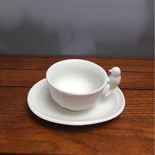 Creative ceramic coffee cup dish bird hand tea
