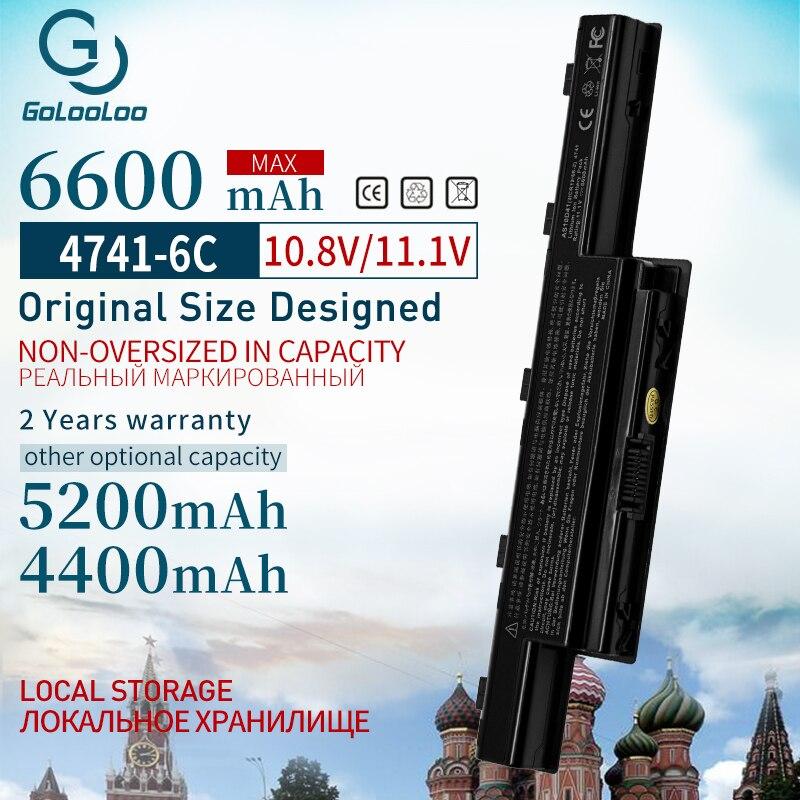 Golooloo 11.1v 4400mah Battery For Acer Aspire V3 571G AS10D41 AS10D81 AS10D61 AS10D31 AS10D71 AS10D73 V3-571G V3 E1 4741 7560G