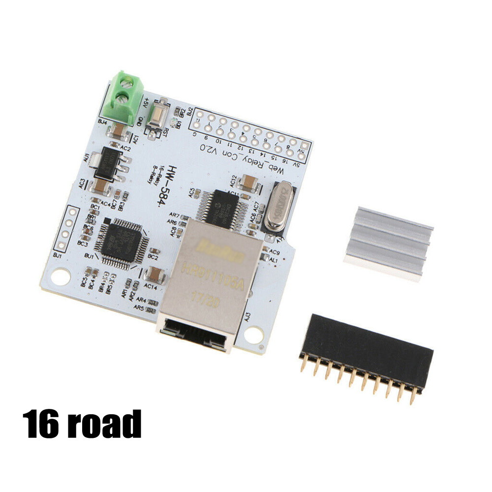 8/16 Road Channel Ethernet Network Module Controller For Relay New High Quality  Router To Control