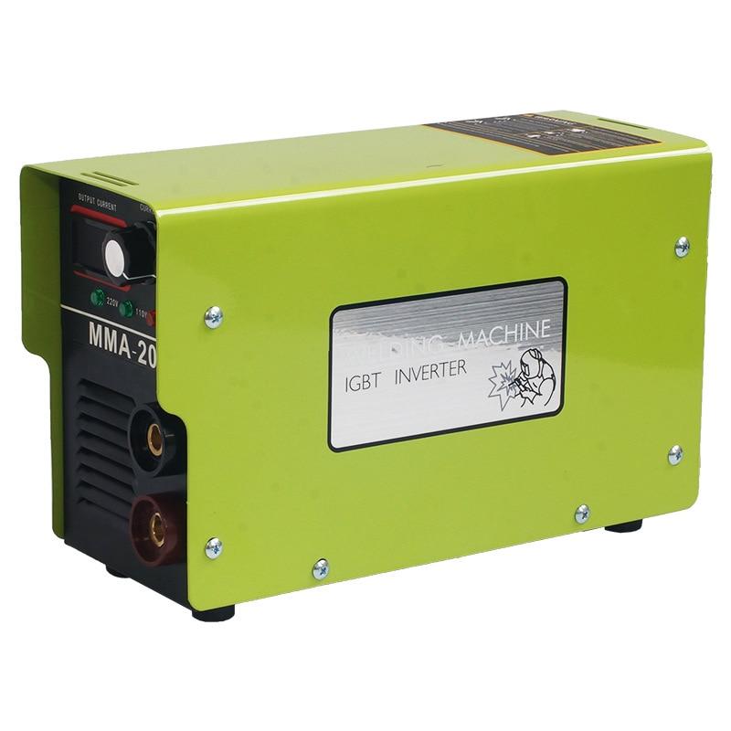 Máquina de Solda Machinehousehold Pequena Inversor Mma-200 110v