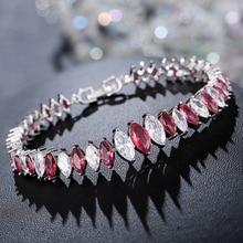 bracelet Womens Amethyst gemstone Bohemian zircon colored Austrian horse eye Vintage love BR0180