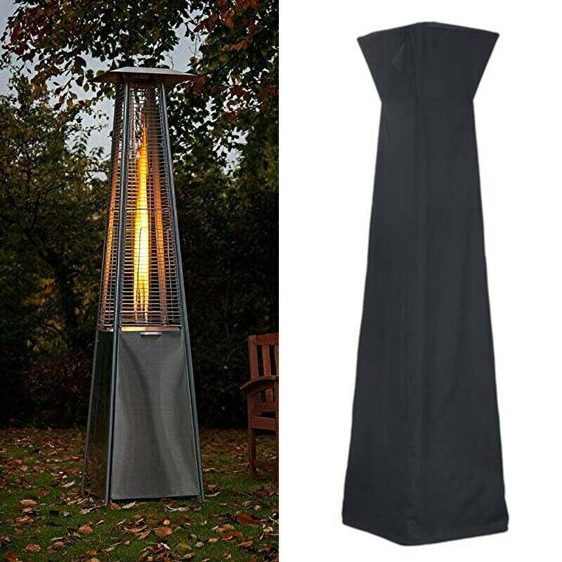 TTLIFE 210D Waterproof Gas Pyramid Patio Heater Cover Garden Furniture Protector Waterproof Cover Garden Furniture Outdoor