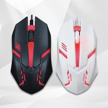 Sale 2019Newest USB Wired Gaming Mouse Practical 1200 DPI E-Sports Game USB Wired Mice Practical Game/Office USB Wired Mouse wired