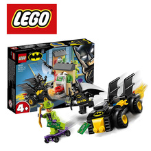 LEGO DC Kit de construction de Super héros Batman contre le cavalier, Ninjago Duplo, jouet bricolage, 76137