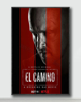 NJ169 El Camino A Breaking Bad Movie Silk Posters and Prints wall art Art Poster Home Decor image