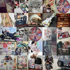 Image 5 - 10/30/50 PCS Cartoon Singer Stickers Waterproof Skateboard Fridge Snowboard Guitar Motorcycle Laptop Kids Sticker Classic Toys