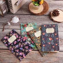 1 PC Rétro Kraft Papier Cahier Portable 48K Classeurs Bloc-Notes à La Main peint Croquis Diarybook Papeterie Fournitures De Bureau