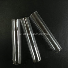 Flat-Bottom Test-Tube Thickening-Glass Clear Lab-20x100mm for School-Experiment 20pcs/Lot