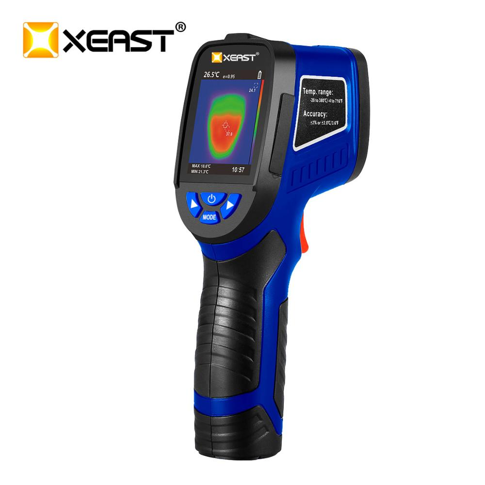 XEAST 2020 neue kühle XE-26D / XE-26 / XE-27 / XE-28 / XE-31series farbe bildschirm handheld thermische imager infrarot thermometer