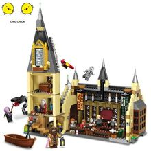 купить Harri movie 2 Castle Express Train Building Blocks House Bricks City Creator Action legoinglys potters Toys Figure For Children по цене 2973.24 рублей