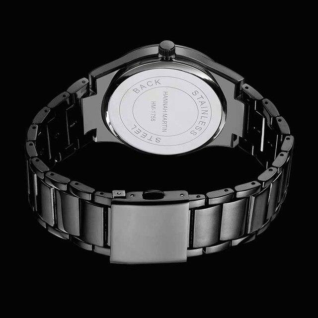 Фото мужские часы hannah martin топ бренд роскошные деловые для мальчиков цена
