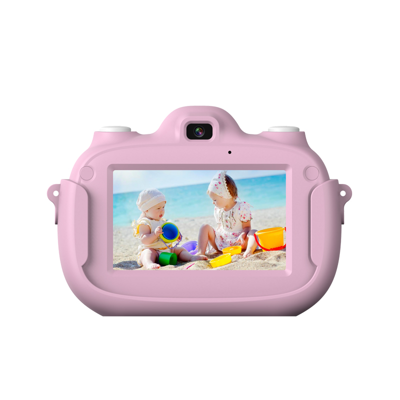 Children Camera 3-Inch HD Display Screen Front And Rear Dual-Press Screen 32GB Capacity Expansion Camera With Wifi Flash Light