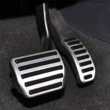 Без сверла алюминиевая топливная Тормозная Спортивная педаль для VOLVO S60 S80 V60 XC60 на автоматическом автомобильном Стайлинг Аксессуары наклейка на автомобиль