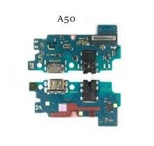 10Pcs USB טעינת Dock מחבר לוח Flex כבל עבור סמסונג A80 A70 A60 A50 A40 A30 A20 A10 A7 a9 2018 A750 A920 A11 A01 A21s