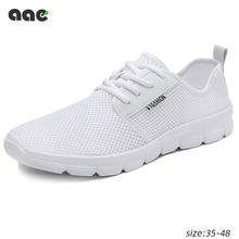 2020 Men Sneakers Lightweight Mens Casual Shoes Comfortable Breathable White Bla