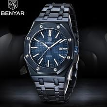 BENYAR Quartz Men's Watches 2020 New Top Brand Luxury Busine