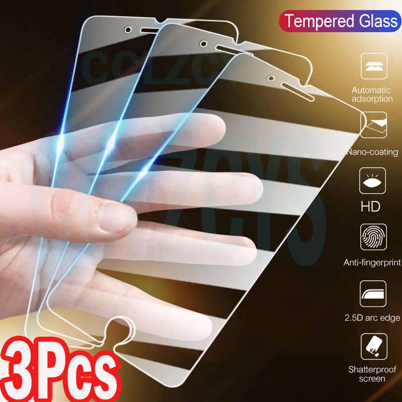 3Pcs מזג זכוכית עבור iPhone 11 פרו מקסימום X XS XR iPhone 11 7 SE 2020 מסך מגן זכוכית עבור iPhone 7 8 6 6S בתוספת 5 5S זכוכית