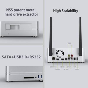 Image 5 - Zidoo Z10 4K Media Player אנדרואיד 7.1 חכם הטלוויזיה Box 2G 16G DDR ממיר 10Bit HDR כפול WiFi USB 3.0 BT 4.0 עם מתנה חינם