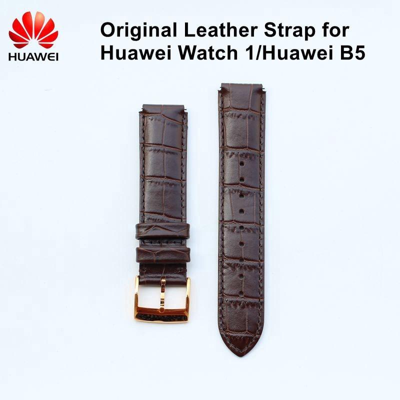 Original Leather Strap for Huawei Watch 1 Huawei B5 Watch Band Strap