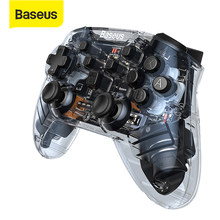 Baseus kablosuz Bluetooth Joystick denetleyicisi uzaktan Gamepad nintendo anahtarı konsolu için NS anahtarı Controle oyun aksesuarları