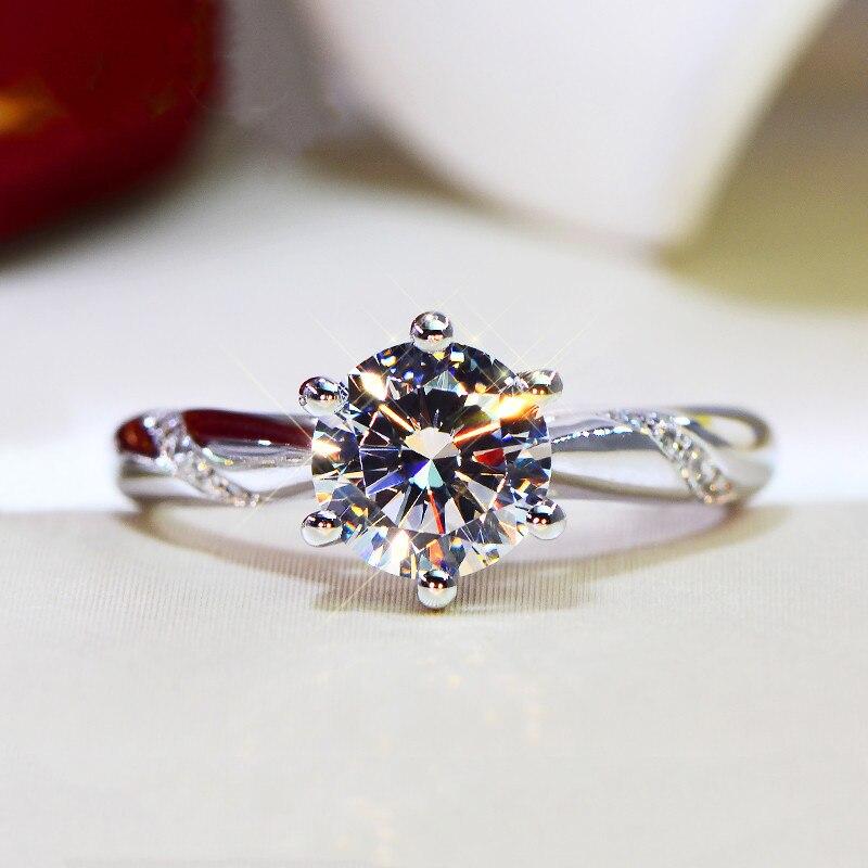 51 Styles Lab diamant promesse bague 925 en argent sterling fiançailles bague de mariage anneaux pour femmes hommes pierres précieuses fête bijoux cadeau 5
