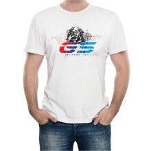 Футболка с круглым вырезом и принтом для мотоцикла, футболка с коротким рукавом, чехол для BMW R1200GS R1200 GS Adventure