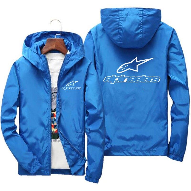 2020 primavera e verão nova alta montanha estrela jaqueta de rua dos homens blusão com capuz zíper fino jaqueta masculina jaqueta casual 7xl 5