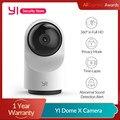 YI купол Камера X 1080 камера безопасности, IP камера FHD WI-FI на основе AI 2-полосная аудио человека/Pet обнаружения Ночное видение IP камера Слот для к...