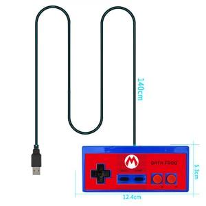 Image 5 - RETROMAX USB Bộ Điều Khiển Chơi Game Joystick Chơi Game Bộ Điều Khiển Cho Máy Nintendo SNES Chơi Game/Windows7/8/10/MAC Máy Tính điều Khiển Joystick