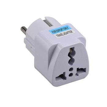 Conversion Power Socket European Travel Plug European Standard Multi-Function smart Socket For France South Korea Russian Plug image
